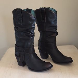 (Corral Vintage) Slouch cowboy boots